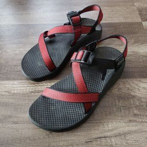 Womens CHACO sandals red black outdoor waterproof